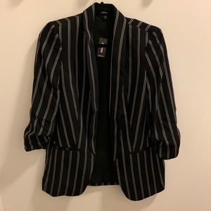 Express Striped Blazer NWT size S